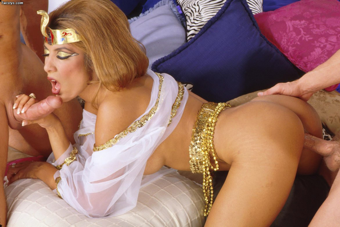 Jasmine st claire takes it all